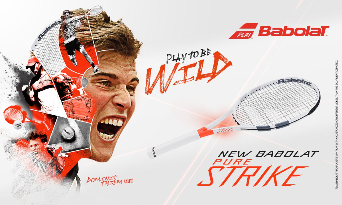 Babolat Pure Strike - Dominic Thiem